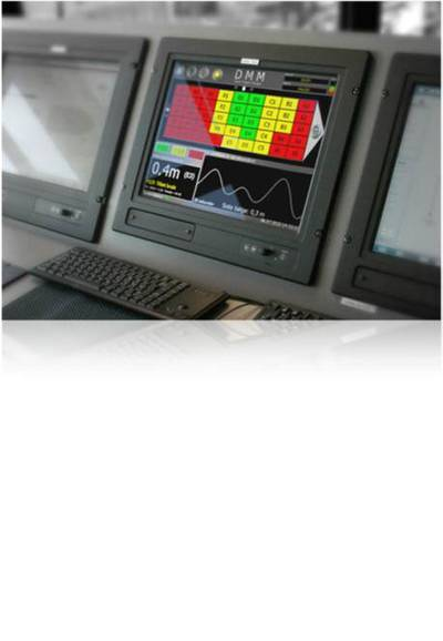 Real time read out for vessel operator