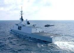 Warship 'FS Guépratte': Photo credit EUNAVFOR