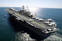 USS Tripoli: Artist's image courtesy of USN