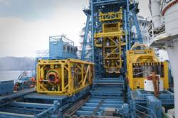 The AX-S tool storage package deployed for subsea stack-up commissioning