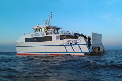 24m Catamaran Ro-Pax Ferry, Runö.