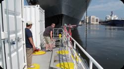FastOcean Shown in Baltimore Harbor: Photo credit Chelsea