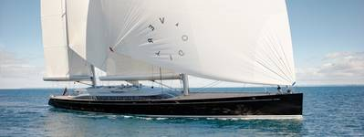 Yacht 'Vertigo' Photo credit Alloy Yachts