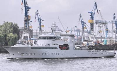 KV Barentshav: Photo credit Port of Hamburg