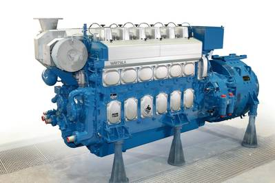 Wärtsilä 20 Engine: Photo credit Wärtsilä
