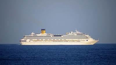 Costa Pacifica: Photo credit Wikimedia CCL, Messalino