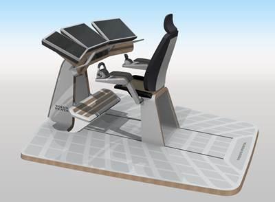 Volvo Penta future helm station