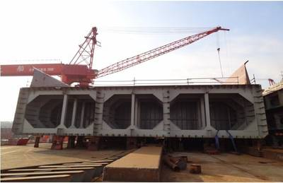 Photo credit Yangzijiang Shipbuilding