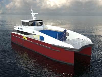 25m Catamaran Wind Farm Service Vessel