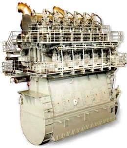 MHI UE Diesel Engine: Photo credit MHI
