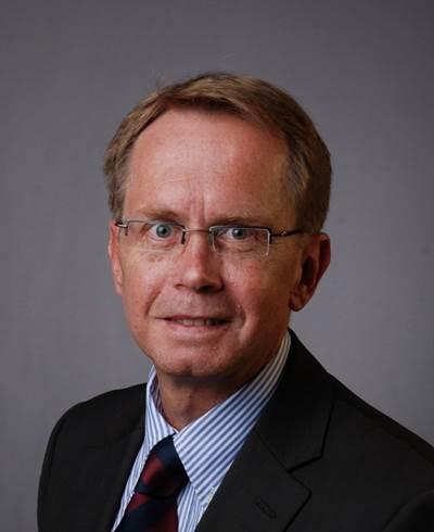 Managing Director Paul Robbe: Photo credit Raytheon