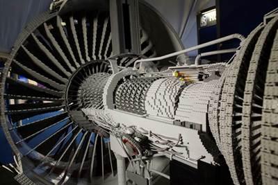 Lego Engine: Photo courtesy of Rolls-Royce
