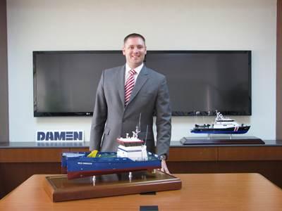 Maarten Jongen, Managing Director of Damen Shipyards Singapore (DSSi).