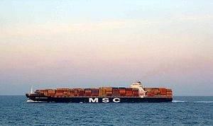 MSC Flaminia: Photo credit Wikipedia CCL