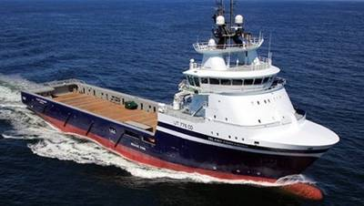 Island Offshore Vessel: Photo credit Island Offshore