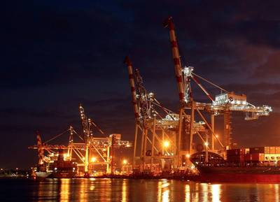 "image courtesy of Port of Melbourne Corporation"""