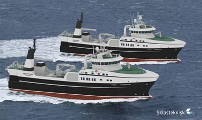 Stern Trawlers ST-116 new buildings.