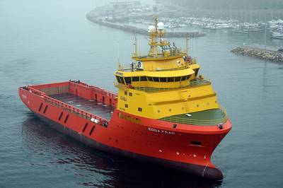 OSV ST-216 Vessel: Photo credit: Skipsteknisk AS