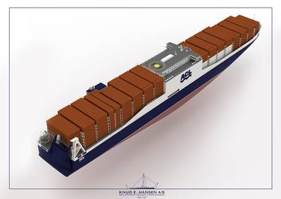Depicted: new RoRo/Container (CONRO) vessels.
