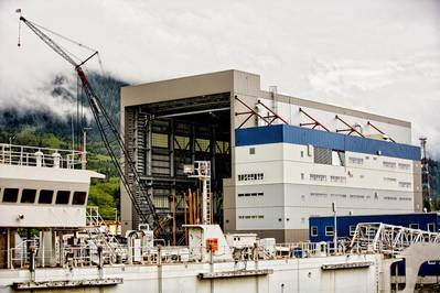 ASD's New State-of-the-Art Shipbuilding Production Center in Ketchikan, Alaska.