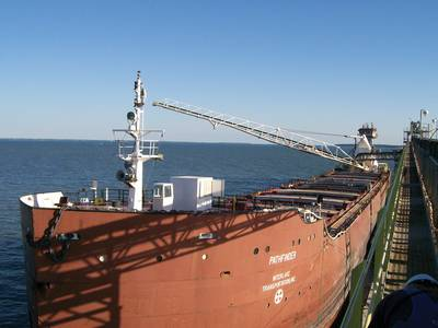 Photo: A Great Lakes stone carrier (courtesy LCA)