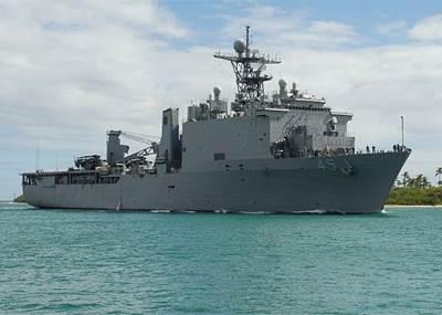 USS Comstock: Photo credit USN