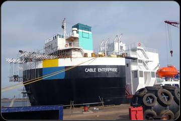 'Cable Enterprise': Photo credit Global Marine