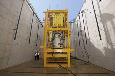 FMC Technologies and Sulzer Pumps Ltd complete qualification testing of a new 3.2 megawatt, 5,000 psi multiphase pump.