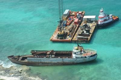 'Jireh' Salvage: Photo courtesy of NOAA