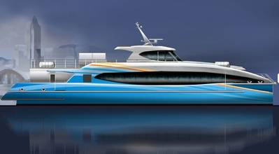 'Super Dream': Image courtesy of Incat Crowther