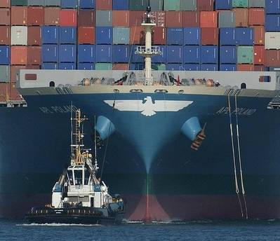 APL Container Ship: Photo credit Geo Swan CCL2