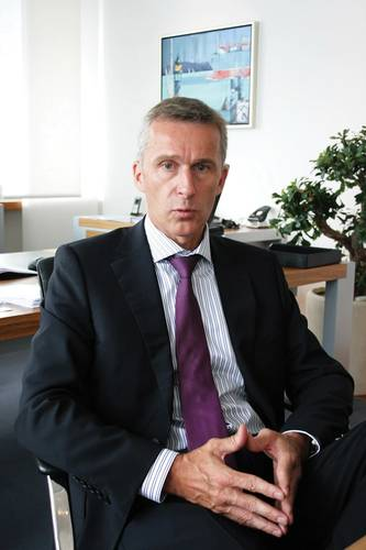 """The 48 year old Harald Fassmer, Managing Director of the family-owned enterprise shipyard Fr. Fassmer GmbH & Co. KG, has been elected as Chairman of the German """"Verband für Schiffbau und Meerestechnik, VSM, e.V"""""""
