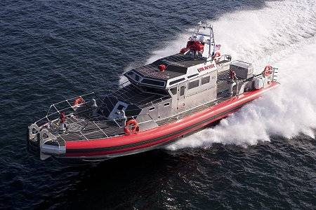 The FDNY's fireboat, the Bravest.Photo: RESOLVE
