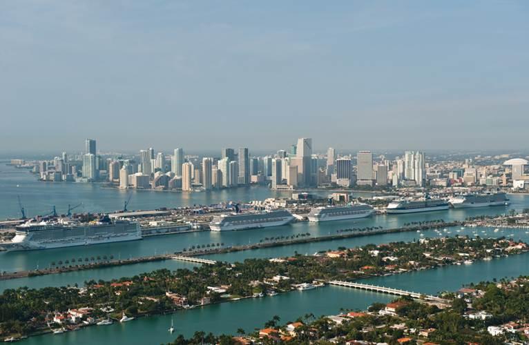 The vibrant cruise market continues to dominate the Miami landscape.