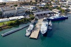 R/V Sally Ride will be homeported at the Scripps Nimitz Marine Facility in Point Loma, Calif. with the rest of the Scripps research fleet (Photo: Scripps)