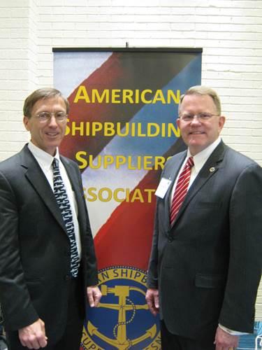Sec. Stackley and ASSA's Rick Hepburn
