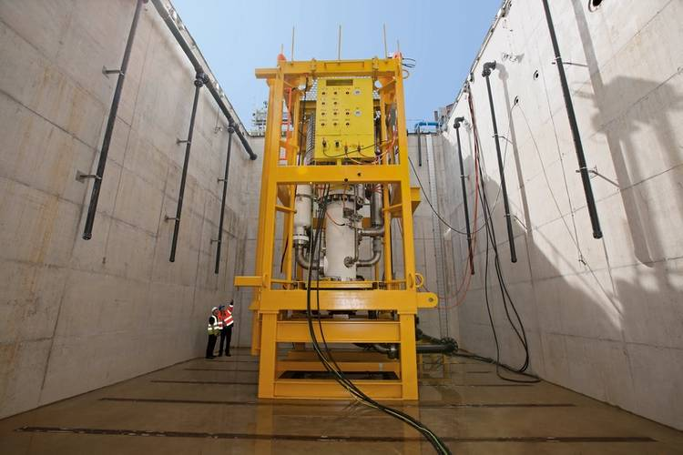 FMC Technologies, Sulzer Pumps Ltd. High-speed, Helico-axial Multiphase Subsea Boosting System