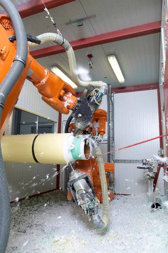 ShawCor Ltd. Mobile Robotic Cutback System
