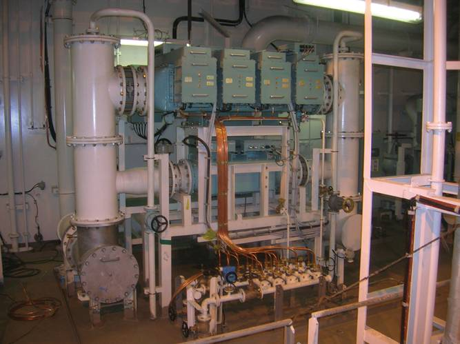 New regulations creating larger electrical loads and in turn larger Auxiliary generators. IMO ballast water treatment system used as an example