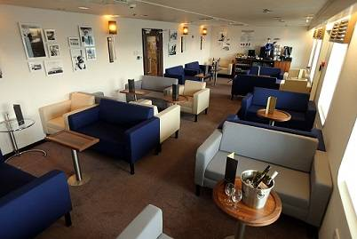 P&O Ferries Club Lounge is now available on all ships operating between Scotland and Northern Ireland