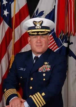 Captain George Lesher, United States Coast Guard (Official USCG photo)