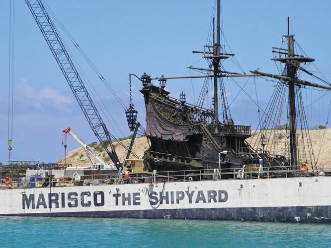 MARISCO, Hawaii's largest private shipyard, was the proving ground for a new test eliminating waste water discharge.