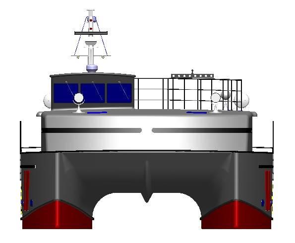 Photo: Trawlercat Marine Designs