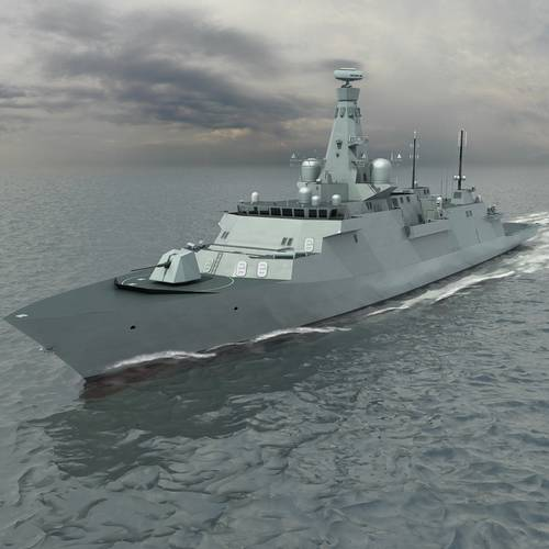 Type 26 Global Combat Ship (Photo: Rolls-Royce)