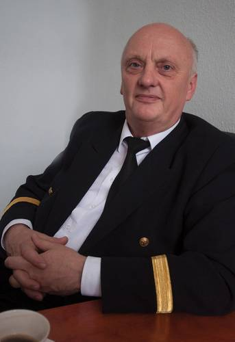Dr. Zbigniew Pietrzykowski, designer of NAVDEC, Navigation Decison Support System for Sea-Going Ships.