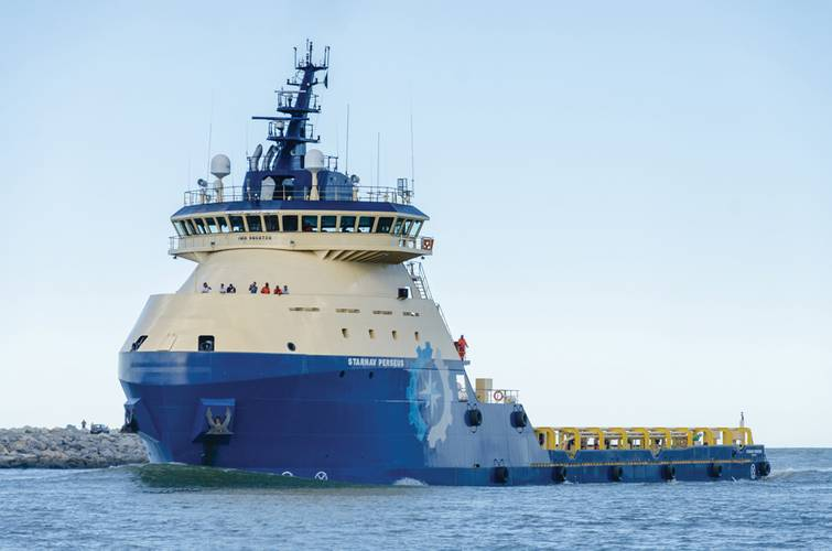 The next generation of Platform Supply Vessels equipped with GE Power Conversion's dynamic positioning and vessel automation technologies.  (Photo: GE Power Conversion: GEPCPR192, © Mariane Martins Nass)