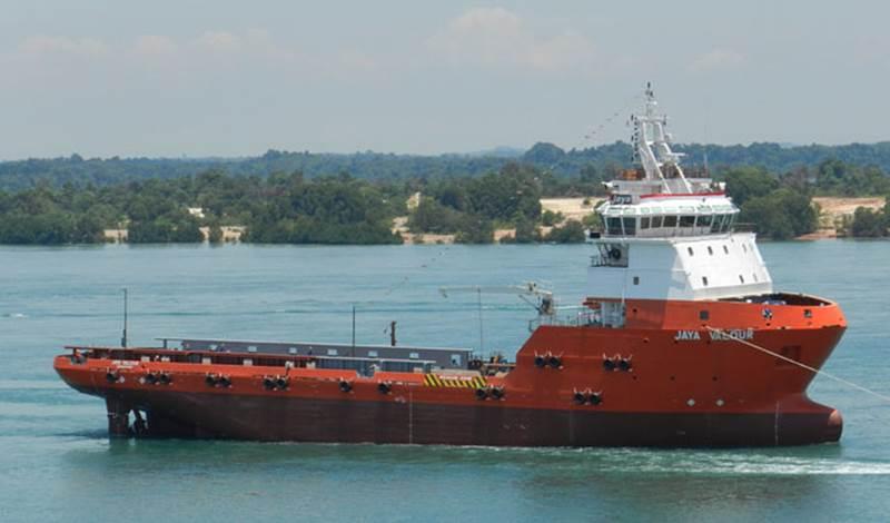 Singapore's Jaya delivers new deepwater PSV.