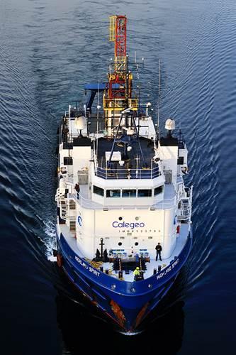 Calegeo's DP2 vessel Highland Spirit