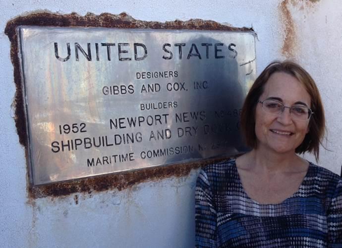 Susan Gibbs With Dedication Plaque