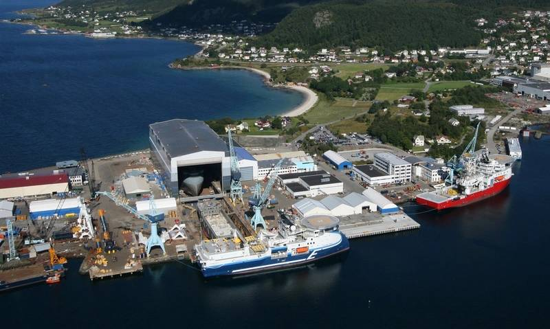 The Ulstein Verft yard on the west coast of Norway has built 38 of the firm's designs.